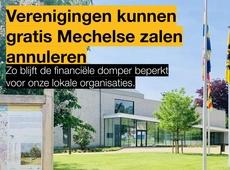 Dorpshuis Hombeek - Verenigingen kunnen Mechelse zalen gratis annuleren - Freya Perdaens