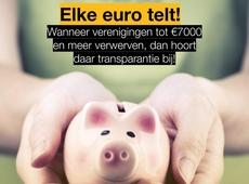 Spaarvarken ter illustratie dat verenigingen zeker subsidies mogen ontvangen, mits voldoende transparantie.