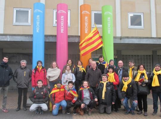 Mechelse N-VA ontvangt Catalanen