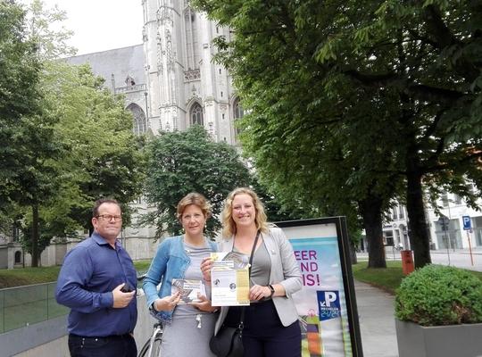 Yves, Kerstin en Freya stellen Parkeerplan voor